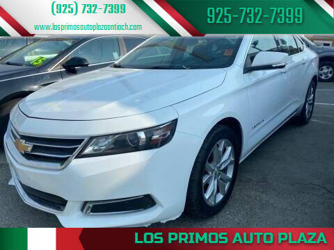 2017 Chevrolet Impala for sale at Los Primos Auto Plaza in Antioch CA
