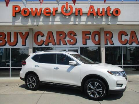 2017 Nissan Rogue for sale at Power On Auto LLC in Monroe NC