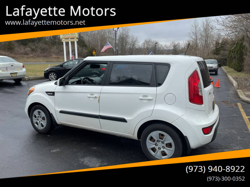 2013 Kia Soul for sale at Lafayette Motors 2 in Andover NJ