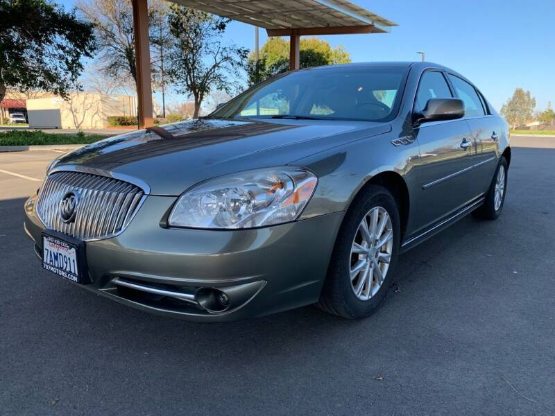 2011 Buick Lucerne for sale at 707 Motors in Fairfield CA