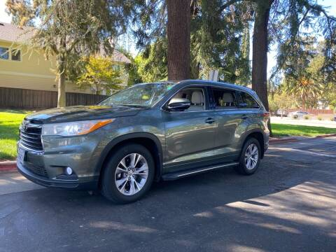 2014 Toyota Highlander for sale at California Diversified Venture in Livermore CA