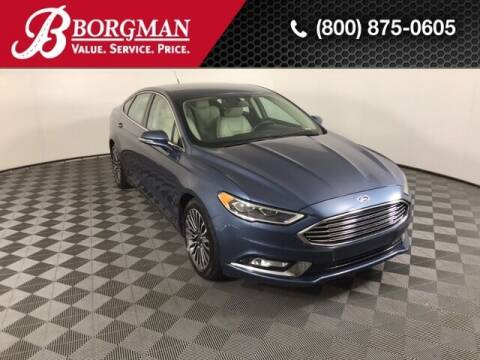 2018 Ford Fusion Hybrid for sale at BORGMAN OF HOLLAND LLC in Holland MI