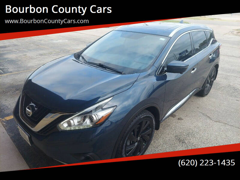 2017 Nissan Murano for sale at Bourbon County Cars in Fort Scott KS
