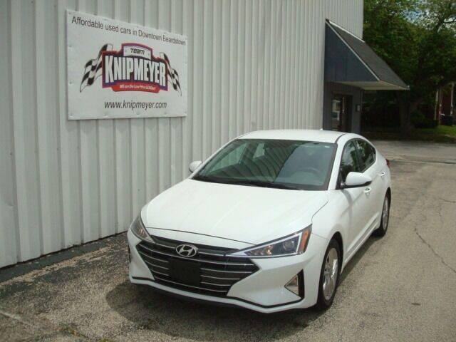 2019 Hyundai Elantra for sale at Team Knipmeyer in Beardstown IL