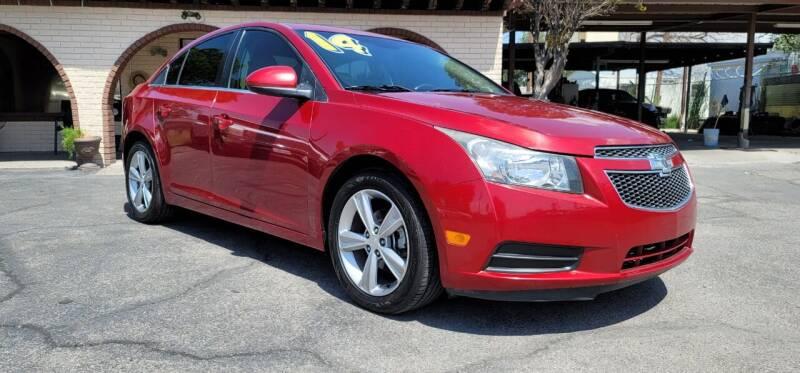 2014 Chevrolet Cruze for sale at FRANCIA MOTORS in El Paso TX