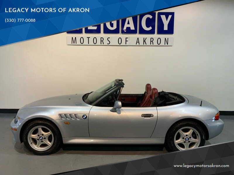 1997 BMW Z3 for sale at LEGACY MOTORS OF AKRON in Akron OH