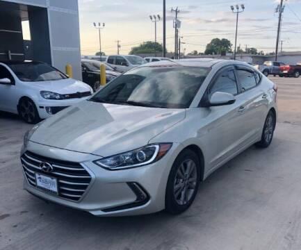 2017 Hyundai Elantra for sale at Eurospeed International in San Antonio TX