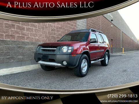 2002 Nissan Xterra for sale at A Plus Auto Sales LLC in Denver CO