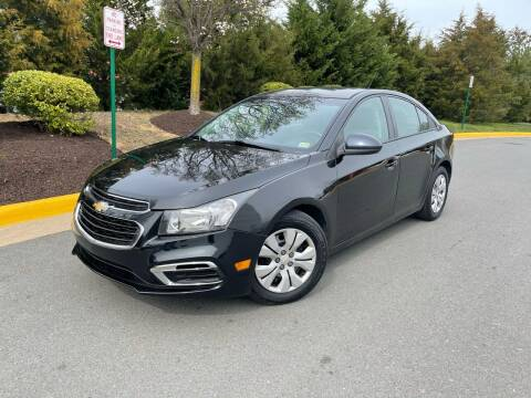 2016 Chevrolet Cruze Limited for sale at Aren Auto Group in Sterling VA