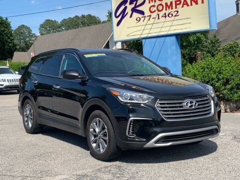 2017 Hyundai Santa Fe for sale at GR Motor Company in Garner NC