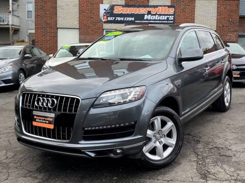 2011 Audi Q7 for sale at Somerville Motors in Somerville MA