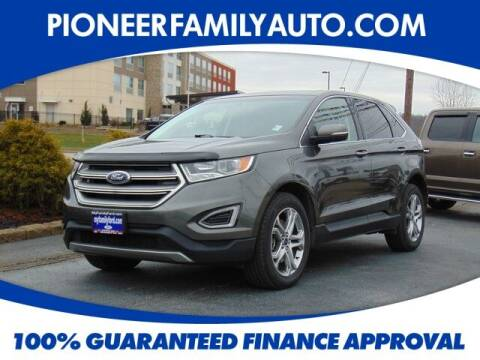 2016 Ford Edge for sale at Pioneer Family auto in Marietta OH