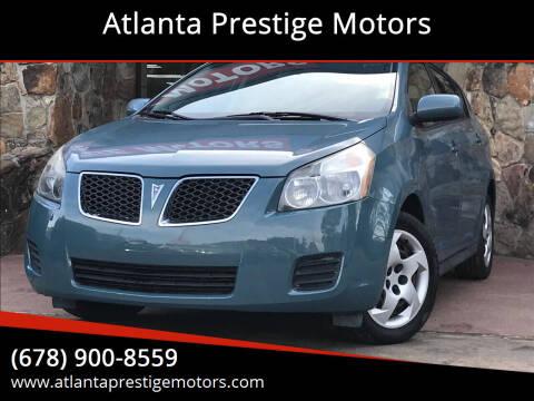 2009 Pontiac Vibe for sale at Atlanta Prestige Motors in Decatur GA