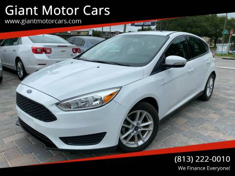 2015 Ford Focus for sale at Giant Motor Cars in Tampa FL