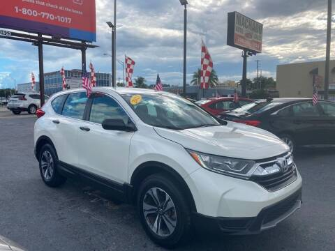 2017 Honda CR-V for sale at MACHADO AUTO SALES in Miami FL