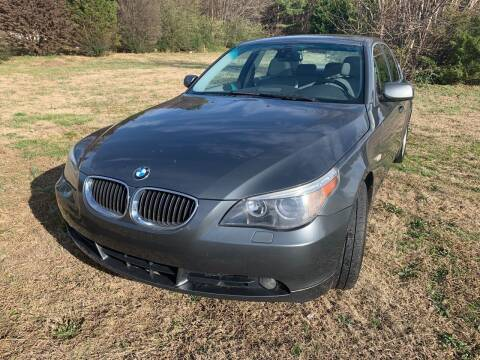 2007 BMW 5 Series for sale at Samet Performance in Louisburg NC