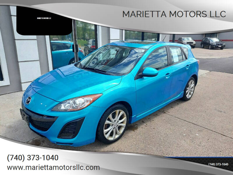 2011 Mazda MAZDA3 for sale at MARIETTA MOTORS LLC in Marietta OH