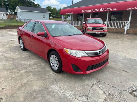 2014 Toyota Camry for sale at Taylor Auto Sales Inc in Lyman SC