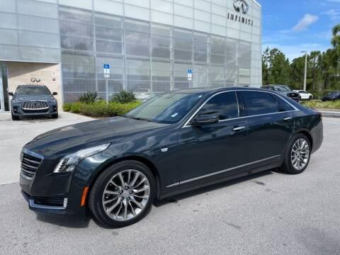 2018 Cadillac CT6 for sale at Infiniti Stuart in Stuart FL