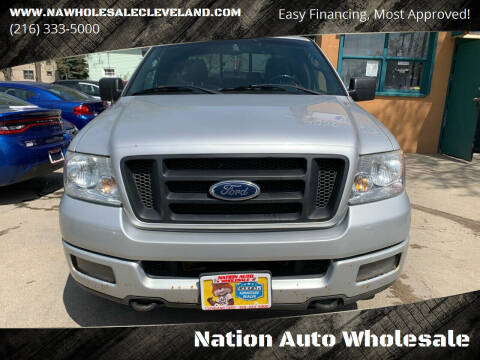 2005 Ford F-150 for sale at Nation Auto Wholesale in Cleveland OH