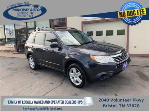 2010 Subaru Forester for sale at PARKWAY AUTO SALES OF BRISTOL in Bristol TN