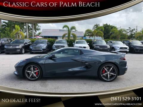 2020 Chevrolet Corvette for sale at Classic Cars of Palm Beach in Jupiter FL