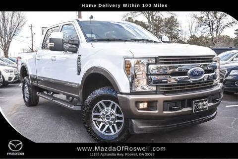2019 Ford F-250 Super Duty for sale at Mazda Of Roswell in Roswell GA
