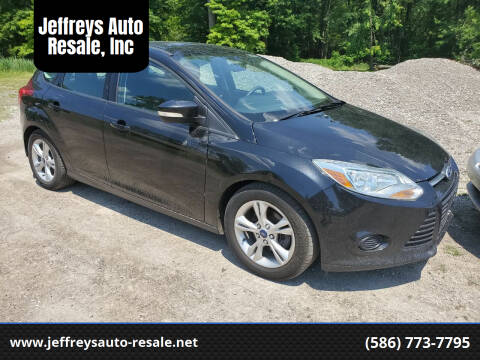 2014 Ford Focus for sale at Jeffreys Auto Resale, Inc in Clinton Township MI