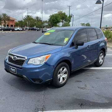2015 Subaru Forester for sale at RUSH AUTO SALES in Burlington NC
