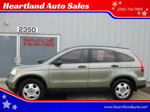 2008 Honda CR-V for sale at Heartland Auto Sales in Medina OH