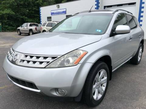 2007 Nissan Murano for sale at Kingston Foreign Auto & Truck in Kingston NH