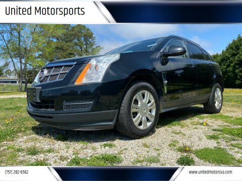 2010 Cadillac SRX for sale at United Motorsports in Virginia Beach VA