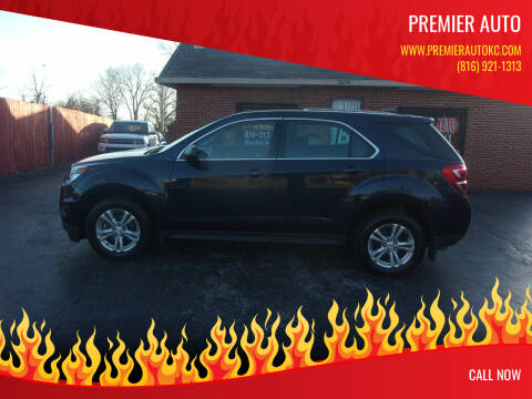 2016 Chevrolet Equinox for sale at Premier Auto in Independence MO