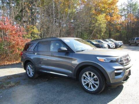2021 Ford Explorer for sale at MC FARLAND FORD in Exeter NH