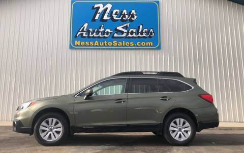 2015 Subaru Outback for sale at NESS AUTO SALES in West Fargo ND