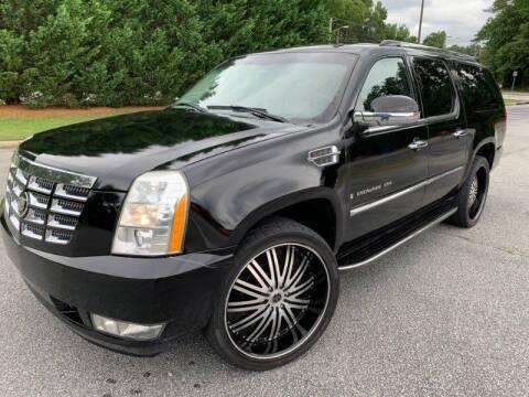 2007 Cadillac Escalade ESV for sale at JES Auto Sales LLC in Fairburn GA