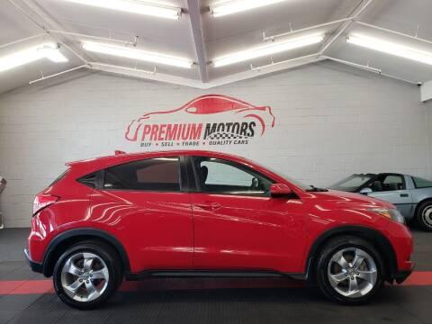 2016 Honda HR-V for sale at Premium Motors in Villa Park IL