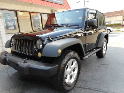 2010 Jeep Wrangler for sale at Super Sports & Imports in Jonesville NC