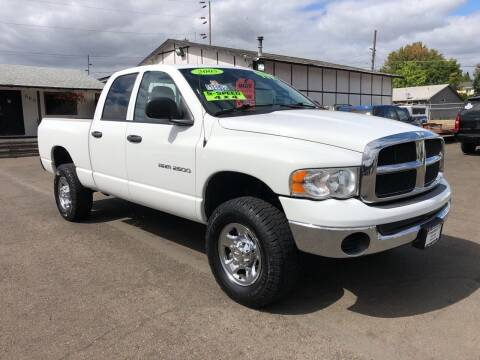 2005 Dodge Ram Pickup 2500 for sale at Freeborn Motors in Lafayette, OR