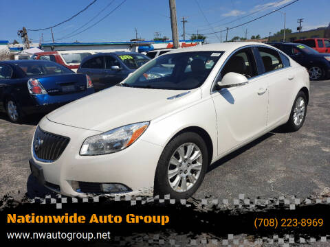 2012 Buick Regal for sale at Nationwide Auto Group in Melrose Park IL