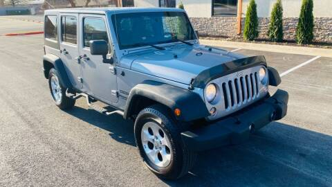 2015 Jeep Wrangler Unlimited for sale at H & B Auto in Fayetteville AR