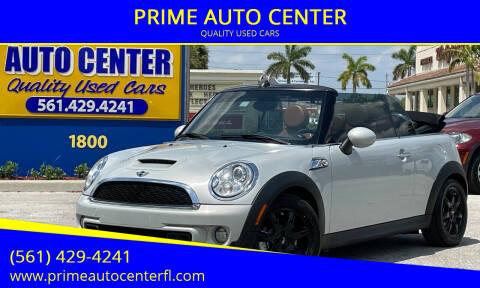 2013 MINI Convertible for sale at PRIME AUTO CENTER in Palm Springs FL