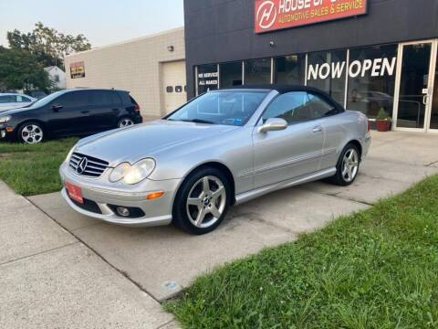 2005 Mercedes-Benz CLK for sale at HOUSE OF CARS CT in Meriden CT