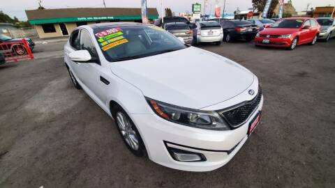 2014 Kia Optima for sale at LR AUTO INC in Santa Ana CA