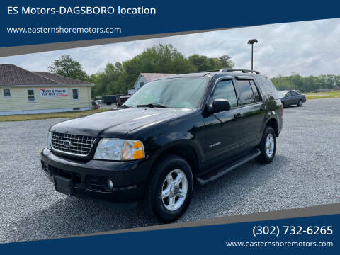 2004 Ford Explorer for sale at ES Motors-DAGSBORO location in Dagsboro DE