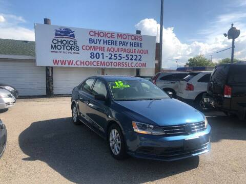2015 Volkswagen Jetta for sale at Choice Motors of Salt Lake City in West Valley  City UT