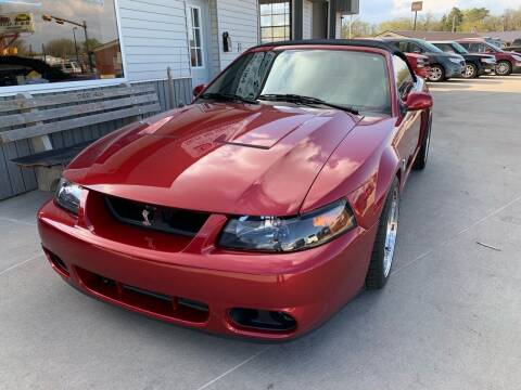2003 Ford Mustang SVT Cobra for sale at D & R Auto Sales in South Sioux City NE