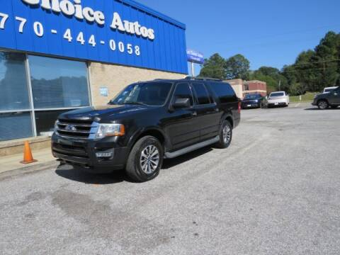 2015 Ford Expedition EL for sale at Southern Auto Solutions - 1st Choice Autos in Marietta GA