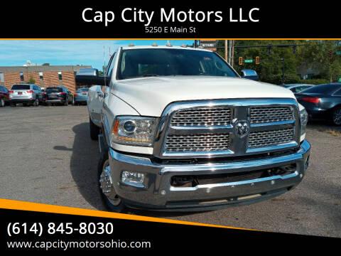 2017 RAM Ram Pickup 3500 for sale at Cap City Motors LLC in Columbus OH