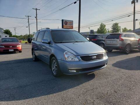 2014 Kia Sedona for sale at Cars 4 Grab in Winchester VA
